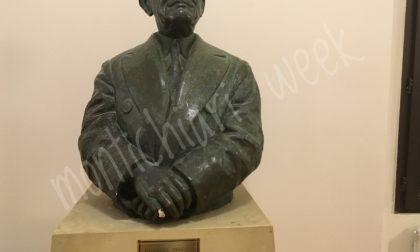 La statua di Longhi recuperata