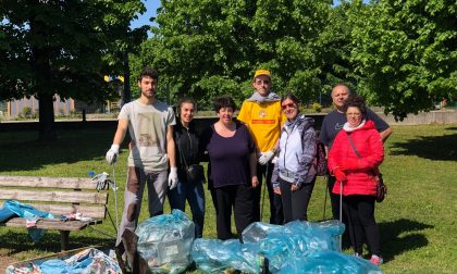PuliAmo Chiari: i volontari ripuliscono alcune vie della città