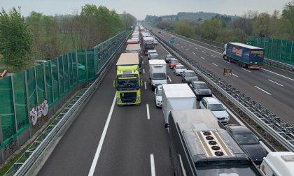 Traffico bloccato in A4: evitate l'autostrada