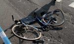 Paura per un ciclista investito a Salò