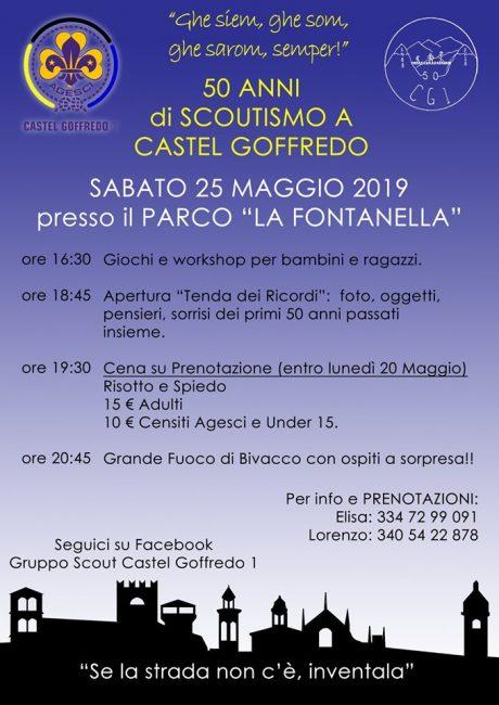Grande festa sabato 25 Maggio al parco la Fontanella