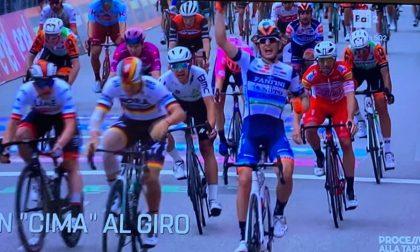 Il lonatese Damiano Cima vince la tappa del Giro