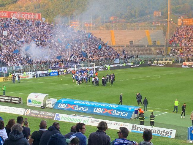 Le Rondinelle volano in Serie A, la festa esplode dopo l'1 a 0 sull'Ascoli in casa