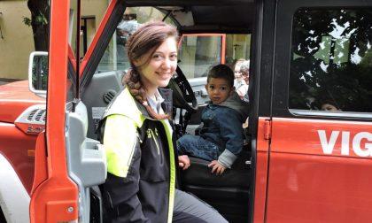 Il maltempo non ferma la giornata del bambino pompiere
