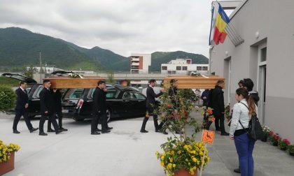 Addio commosso ai fratelli Bejan, vittime del maltempo