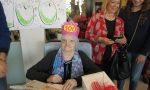 Maria Riva ha spento 100 candeline alla Pietro Cadeo onlus di Chiari