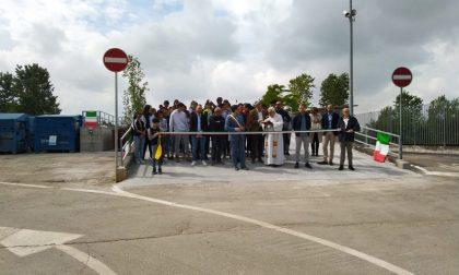 Inaugurazione centro raccolta a Gottolengo