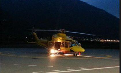 Elisoccorso nella notte a Pozzolengo: quattro le persone coinvolte nell'incidente