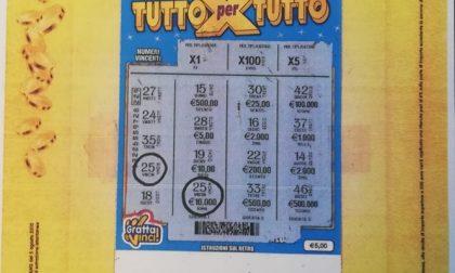 Chiede un biglietto vincente e porta a casa 10mila euro