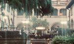 Manerbio, il concerto della banda in villa Finadri