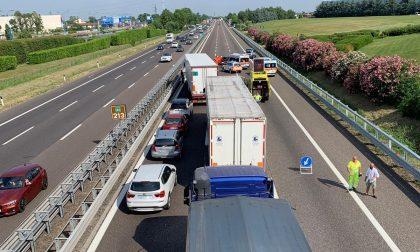 Incidente in autostrada: code in A4