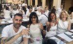 Manerbio, via XX settembre si tinge di bianco