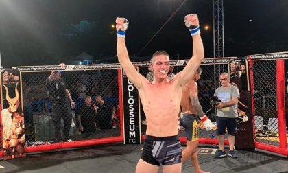Debutto con vittoria per il giovane Michael Pagani di Urago al MMA di Sassari