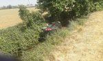 Ribaltamento sulla Sp11 a Orzinuovi, scatta il rosso