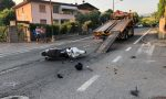 Grave incidente a Passirano: scontro fra auto e moto