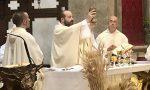 Manerbio, la prima messa di Fra Gabriele Barbi