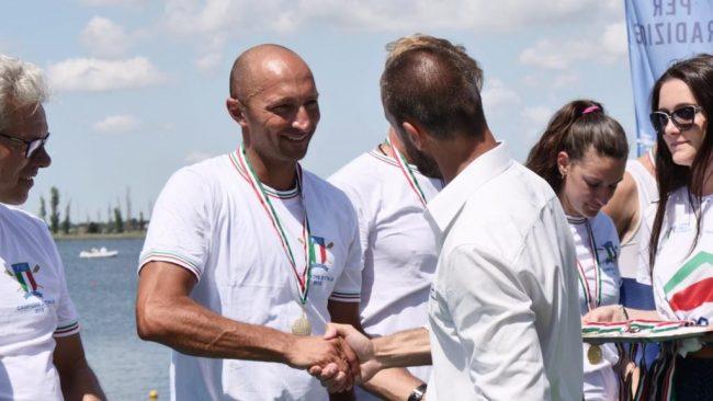 Tre titoli italiani per il Circolo Canottaggio Gruppo Volontari del Garda