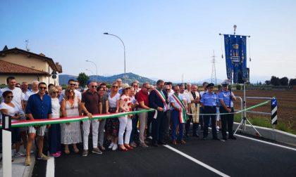 Coccaglio: inaugurata questa mattina via Castrezzato
