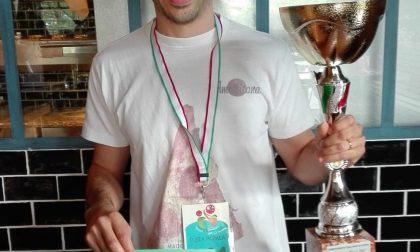 Alessandro Raffi è campione italiano di pizza in pala
