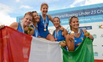 Laura Meriano campionessa del mondo di canottaggio Under 23