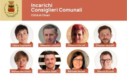 Il sindaco di Chiari affida gli incarichi ai consiglieri