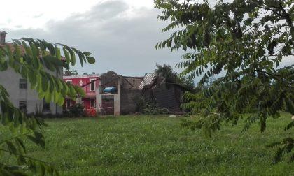 Tromba d'aria, pesanti danni nella campagna monteclarense