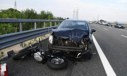Schianto su Brebemi, morto motociclista. A35  bloccata FOTO