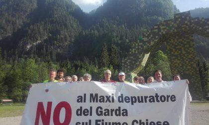 Presidio in programma a Salò per dire no ai depuratori sul Chiese