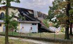 Feroce maltempo a Castiglione: scoperchiata la palestra delle scuole elementari FOTO