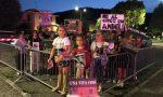 Picchetto di protesta al circo Arbell di Iseo