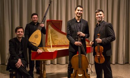 Il Quartetto Vanvitelli protagonista del Festival Suoni e Sapori del Garda