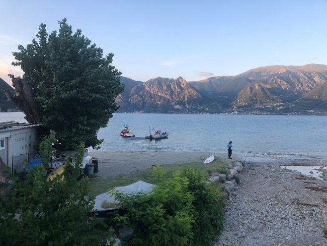 inghiottiti dal lago