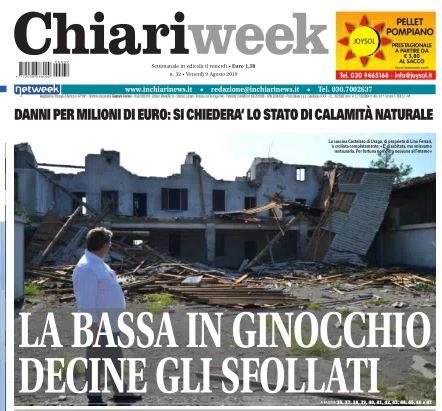 Il nuovo numero di Chiariweek è in edicola