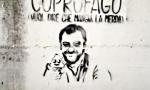 Murales anti-Salvini a Lumezzane e uova contro la sede leghista
