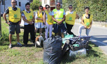 """Villachiara, volontari Legambiente """"Valle dell'Oglio"""" all'opera"""