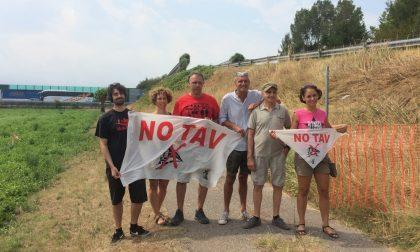 """I No Tav bresciani lanciano """"SOS Cantieri Tav"""""""