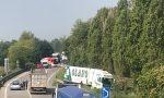 Incidente sulla Sp11, auto ribaltata tra Bedizzole e Lonato