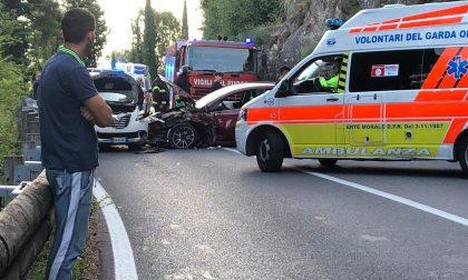 Incidente a Toscolano Maderno: interviene l'elisoccorso