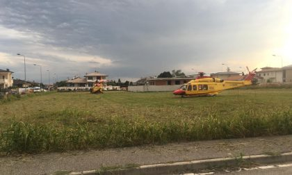 Investiti due bambini a Comezzano-Cizzago: decollati due elisoccorsi VIDEO