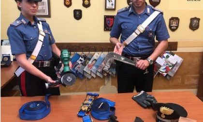 Manerbio, tentano di rubare i pali della luce: arrestati due giovani