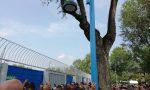 Caos nel pre partita di Brescia – Bologna: l'apertura