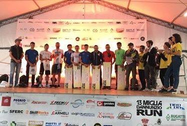 13Miglia d'Annunzio Run, successo per la seconda edizione