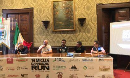 Presentata la seconda edizione della 13Miglia d'Annunzio Run