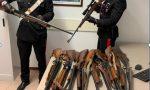 Imbraccia un fucile da caccia e minaccia di suicidarsi, salvato dai Carabinieri