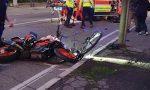 Scontro tra moto e bici, feriti due ragazzi a Montichiari