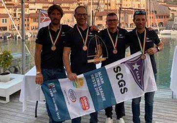 Campionato Italiano per Club 2019, la Canottieri Garda al terzo posto