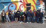 Inaugurato murales alle scuole elementari di Orzinuovi