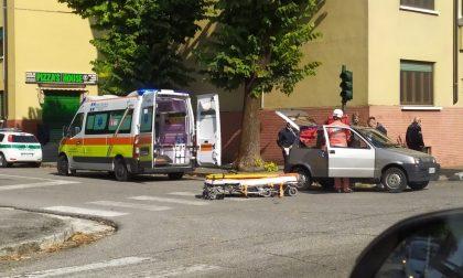 Incidente in via Giuseppe Verdi a Manerbio