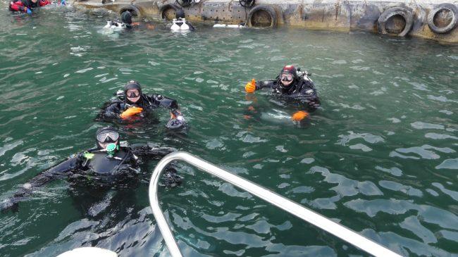 Recuperate altre due reti killer nel lago d'Iseo VIDEO