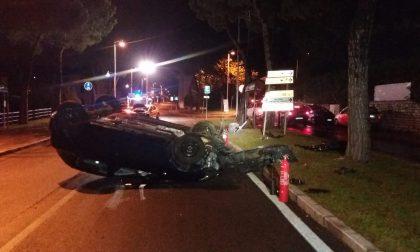 Spaventoso incidente a Sale Marasino: in ospedale una rovatese